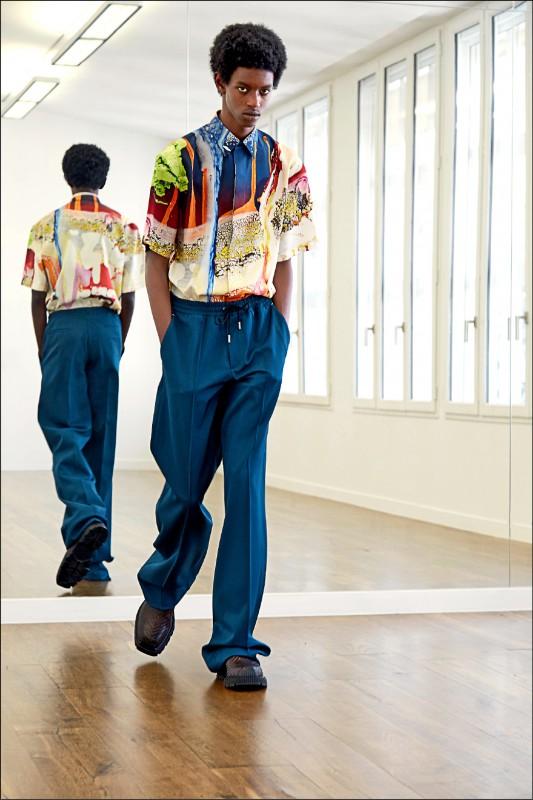 《時尚名人》Berluti跨界隔空 合作陶藝家-巴黎與洛杉磯連線創作 服裝斑斕耀眼 散發生命力
