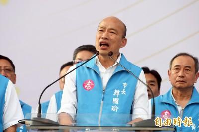 韓國瑜有用了!中國洪災不斷 律師點名「清水溝大師」幫忙