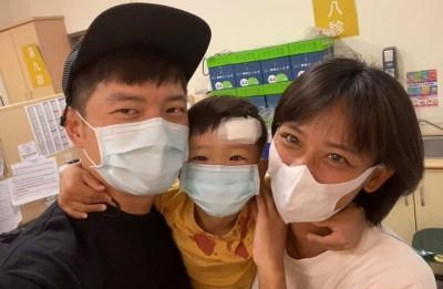 宥勝老婆兒子全身血 送醫急救上了重要一課