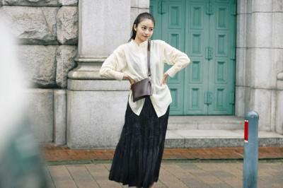 日本人氣女星示範 UNIQLO這樣搭超仙氣