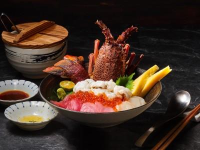 海膽、黑鮪、生龍蝦  日本橋海鮮丼辻半新品上市
