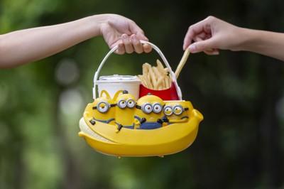 萌力大爆發!麥當勞「小小兵萬用置物籃」新登場