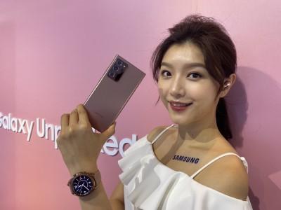 不用等了!三星Note 20台灣只賣5G版 不會引進4G版