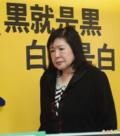 對李登輝肖像潑漆婦人竟是鄭惠中 去年掌摑鄭麗君「被踢出2協會」