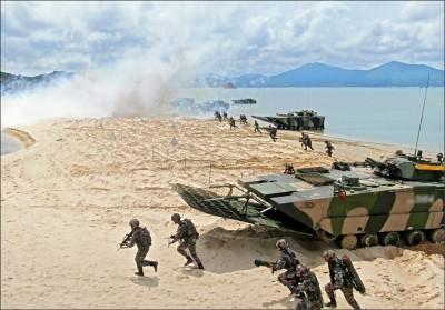 中國宣布台海軍演 他籲馬英九踹共