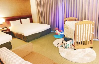 福泰飯店集團x奇哥  打造溫馨親子房