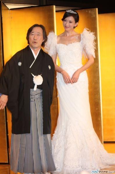 不只北川景子林志玲絕美婚紗也給她設計 自由娛樂