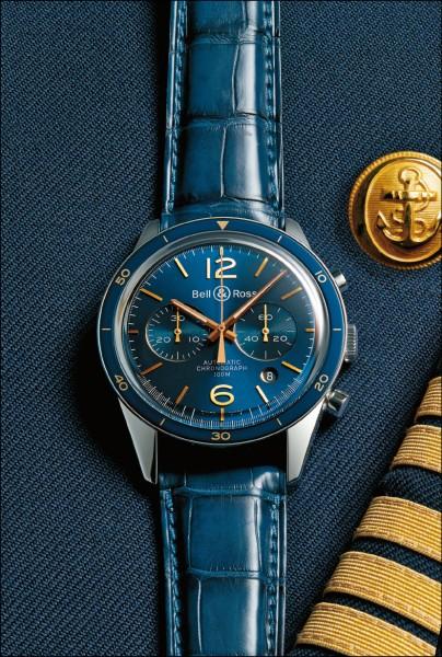 buy online a8980 9fc68 新世代新時計》穿上海軍制服!俊俏藍金! - 自由娛樂