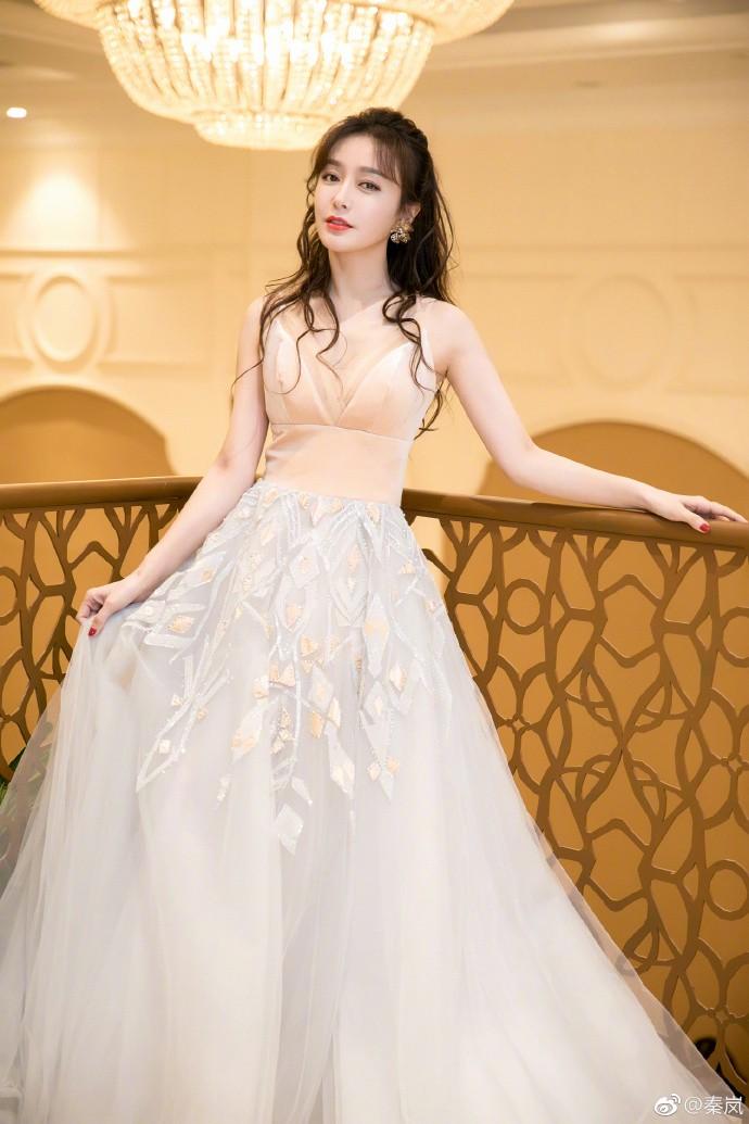 美哭!富察皇后披夢幻婚紗 根本仙女下凡