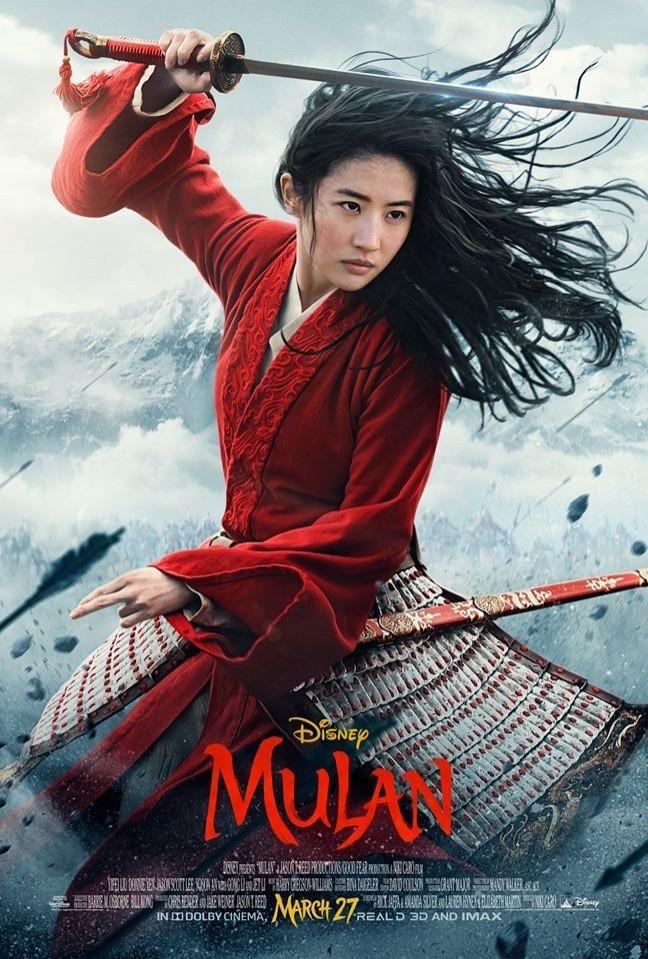 《花木蘭》再釋出預告 劉亦菲秀「超高難度動作」