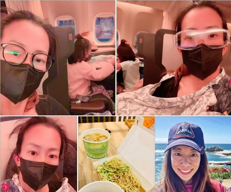 邊飛邊餵奶!《鹿鼎記》女星美國返台 讚台灣人情味