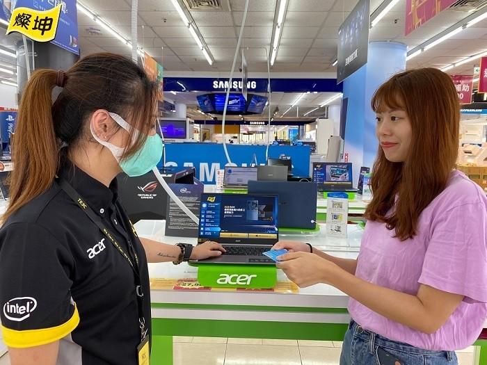 燦坤推出長達2個月的Intel筆電舊換新活動。(燦坤提供)