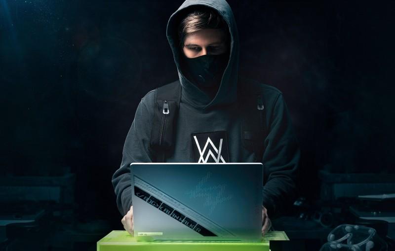 華碩跨界天才DJ Alan Walker 量身訂製全球唯二限定版筆電