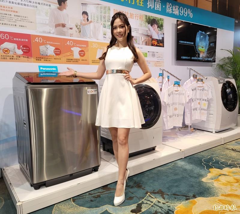 Panasonic全新直立式洗衣機、清淨除濕機登台 二大業界唯一設計