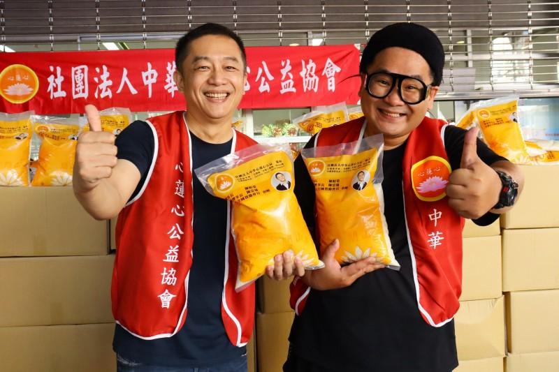 超暖!陳昭榮接父命捐棺 再捐2萬公斤白米做公益