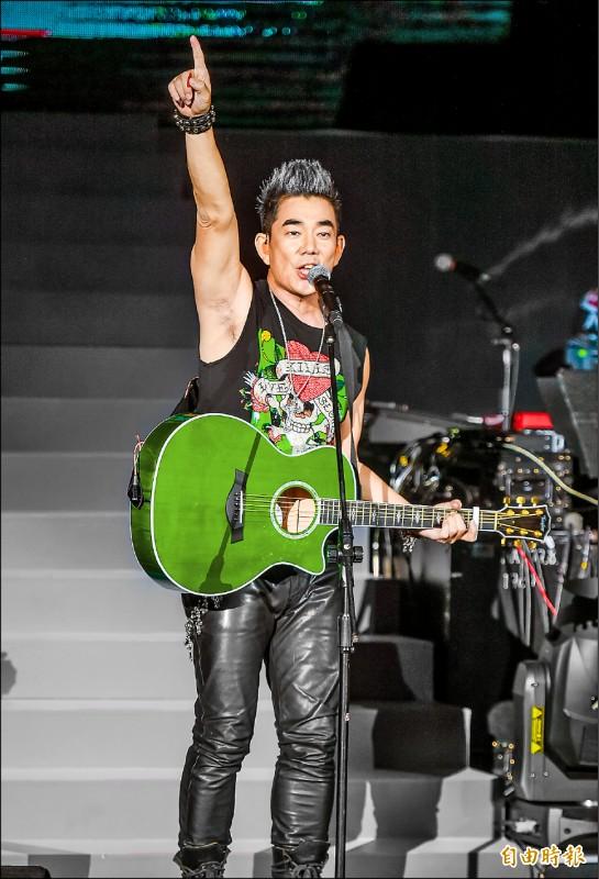 任賢齊重回演唱會出發地 幸福伴歌迷青春
