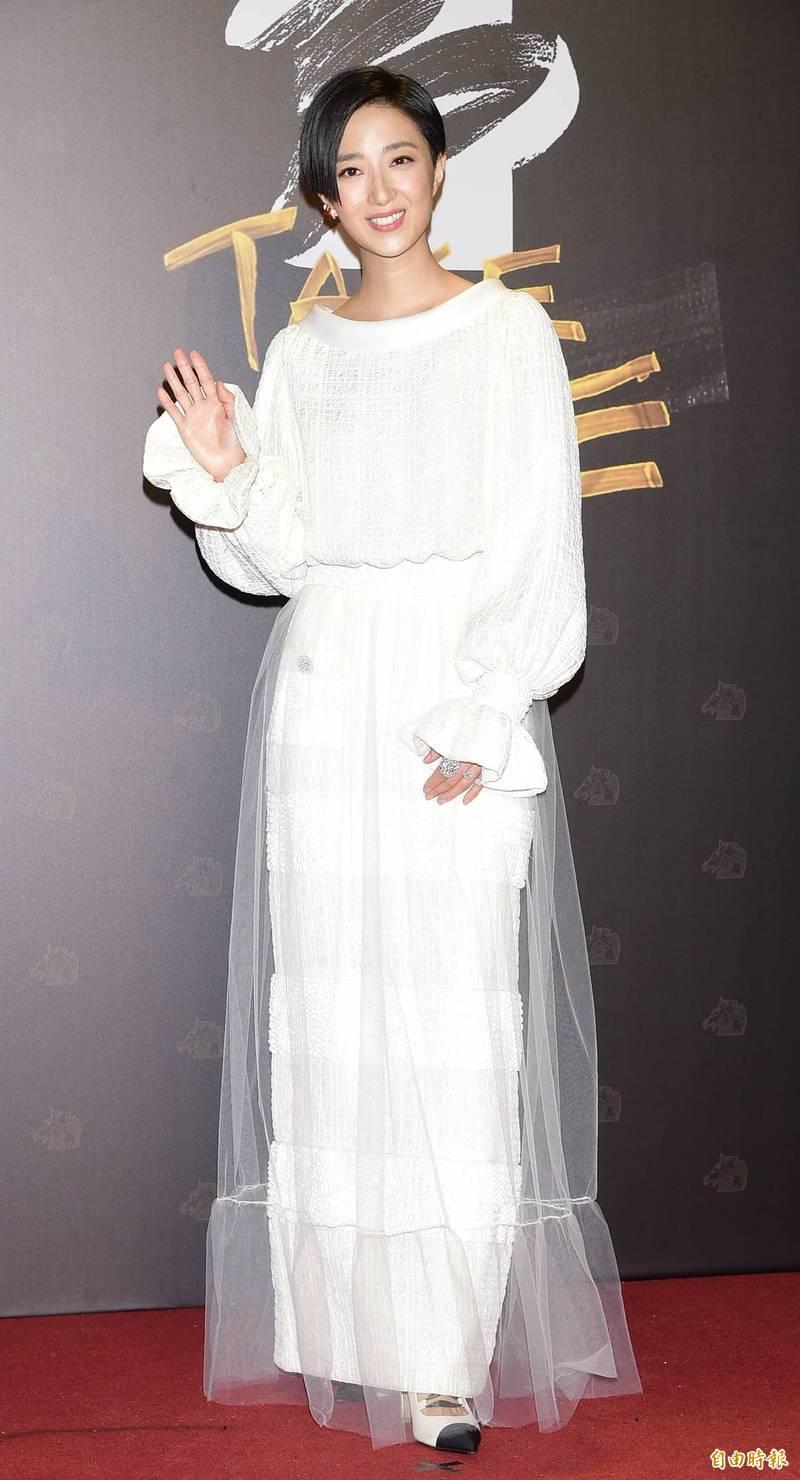 金馬紅毯》桂綸鎂奪第一美 最美阿姨也上榜