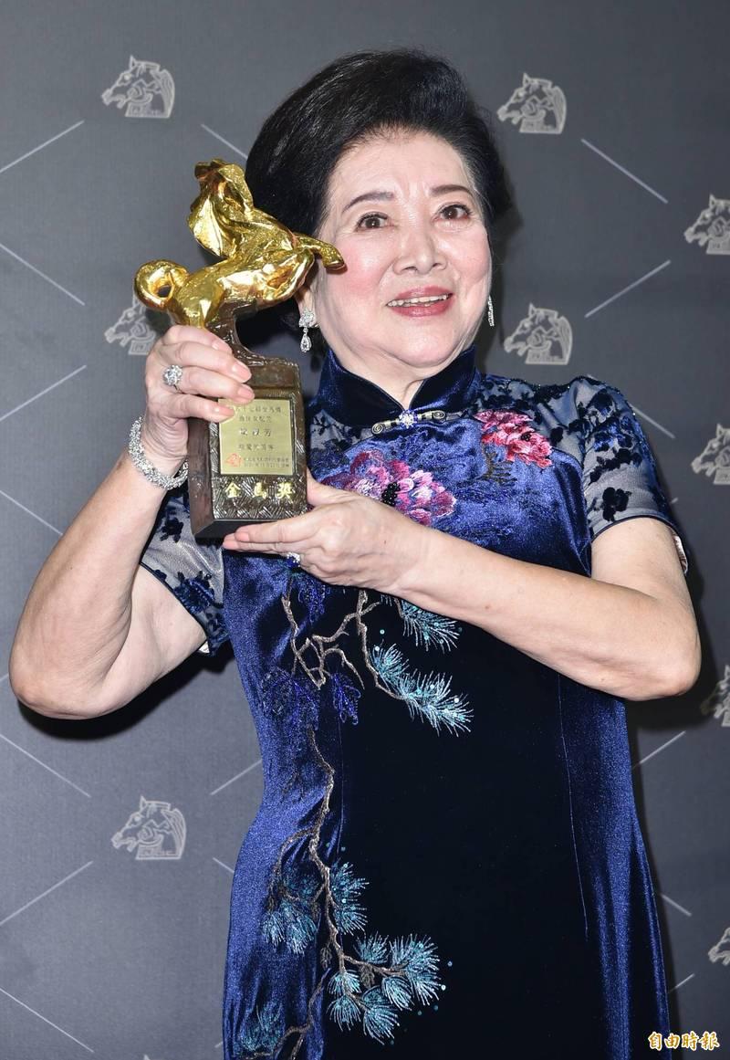 金馬57》陳淑芳狂奪兩獎!獲「最佳女主角」哭爆