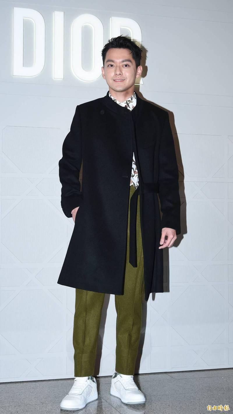 曾宇謙首次精品活動獻Dior 緊張手冰冰
