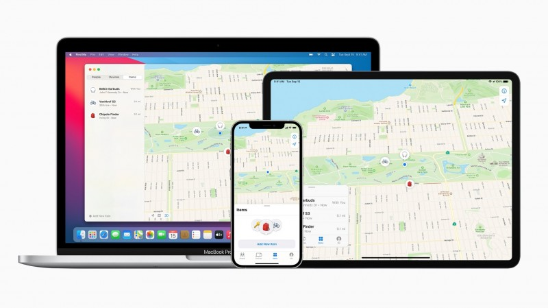Apple內建追蹤神器更好用了 《尋找》功能開放第三方裝置