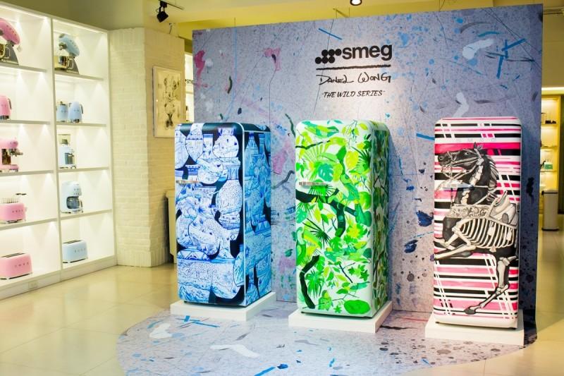 有錢也不見得買得到!Daniel Wong手繪藝術冰箱 全球限量3台