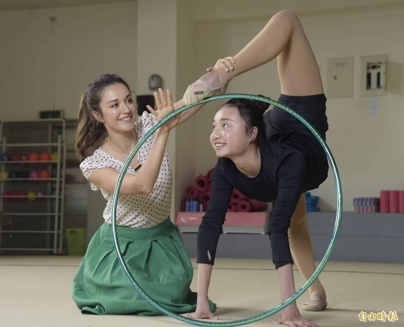 致力台灣韻律體操遭抹黑 瑞莎發文報喜訊「不能被有心人士影響」