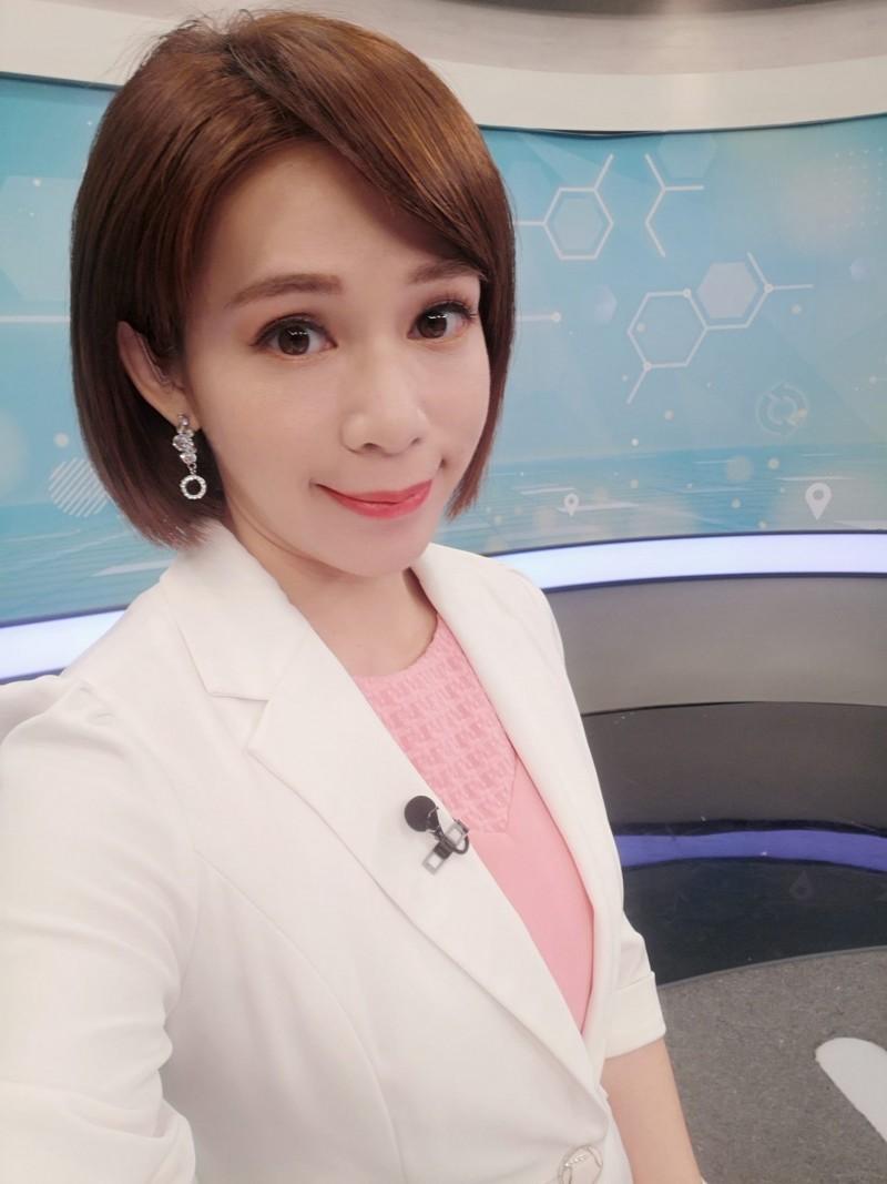 華視主播戰勝武漢肺炎 17日解除隔離...親曝聲音沙啞之謎