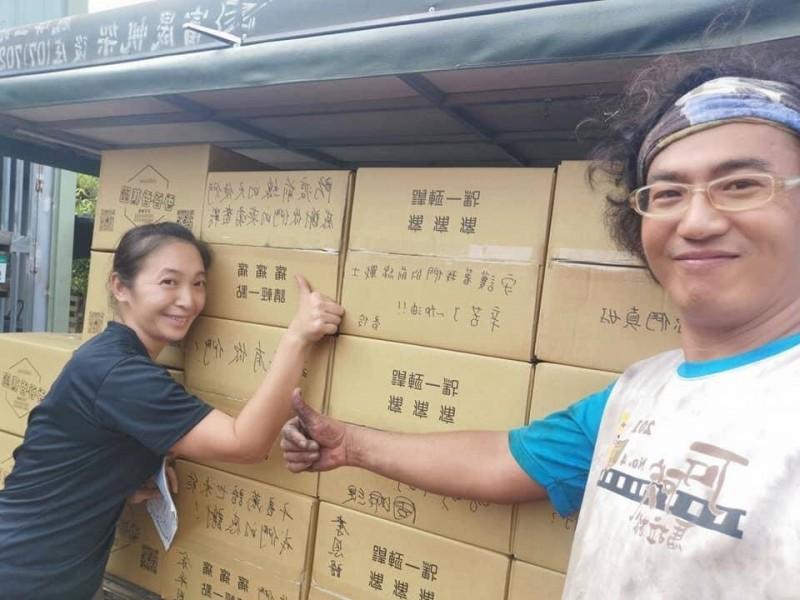 女星幫助蕉農 集資美水果送醫院