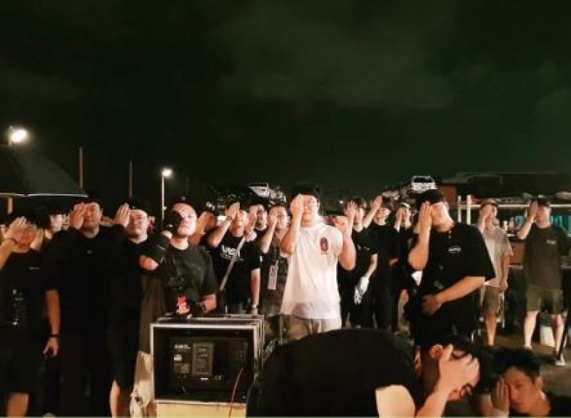 韓星號召劇組聲援香港   六四照嚇到中國網友全閉嘴