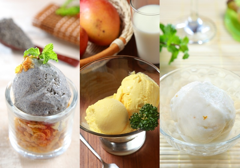 自製冰淇淋不用買機器!奶茶、芒果、起司...一次學5種口味