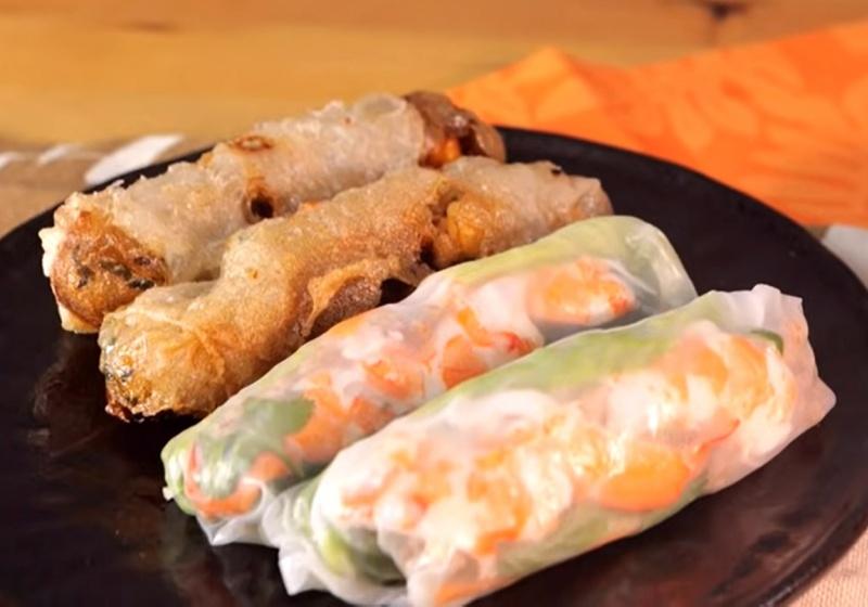 越式春捲「涼拌&酥炸」兩種吃法一次教給你