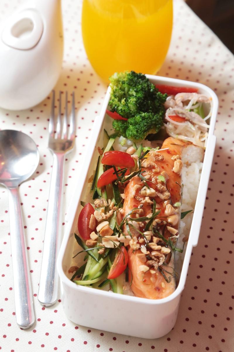 泰式烤鮭魚