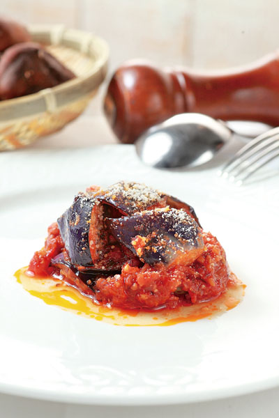 西西里番茄燉茄子