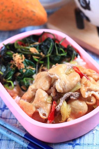 酸菜肉絲腸