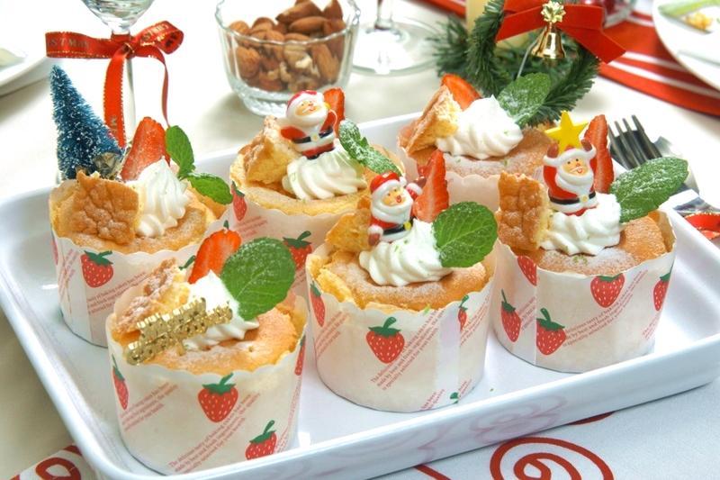 聖誕杯子蛋糕 | 新手也會做的超可愛派對點心!
