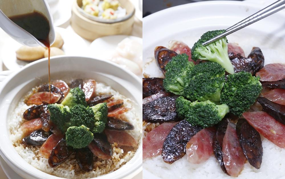臘味煲仔飯 | 臘腸、肝腸、臘肉三強合一港式美味