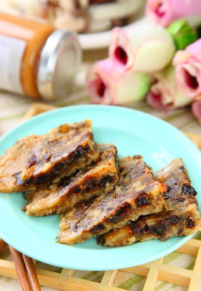 燕麥葡萄鬆糕