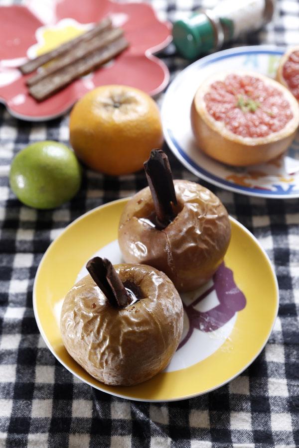肉桂奶油蘋果