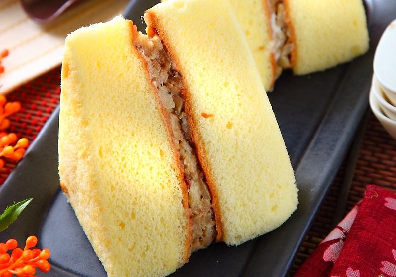 台湾スイーツ 鹹蛋糕