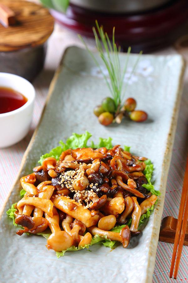 紅茶三鮮菇