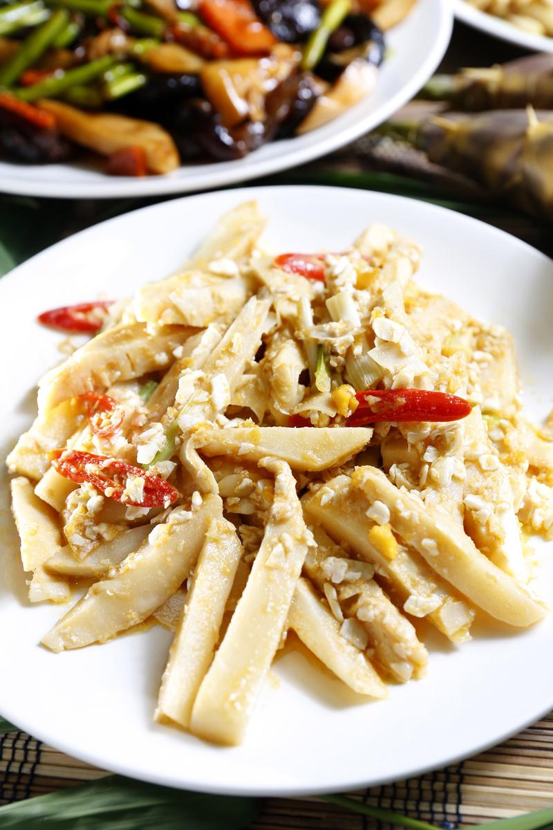 金沙綠竹筍