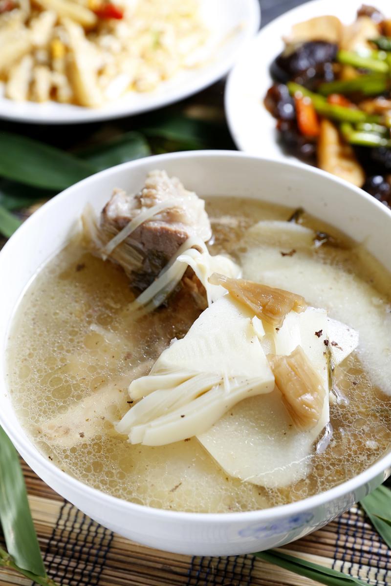 福菜麻竹筍湯