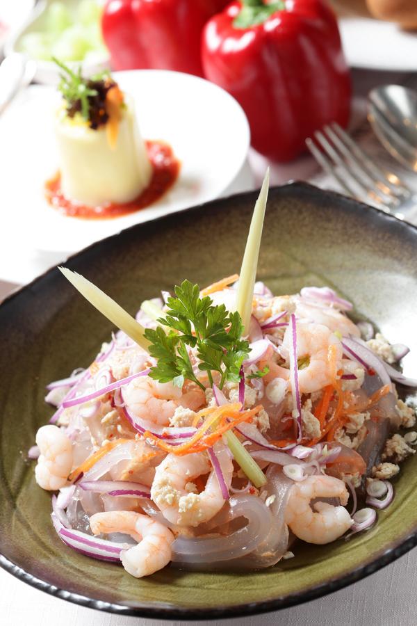 泰式蝦仁涼粉