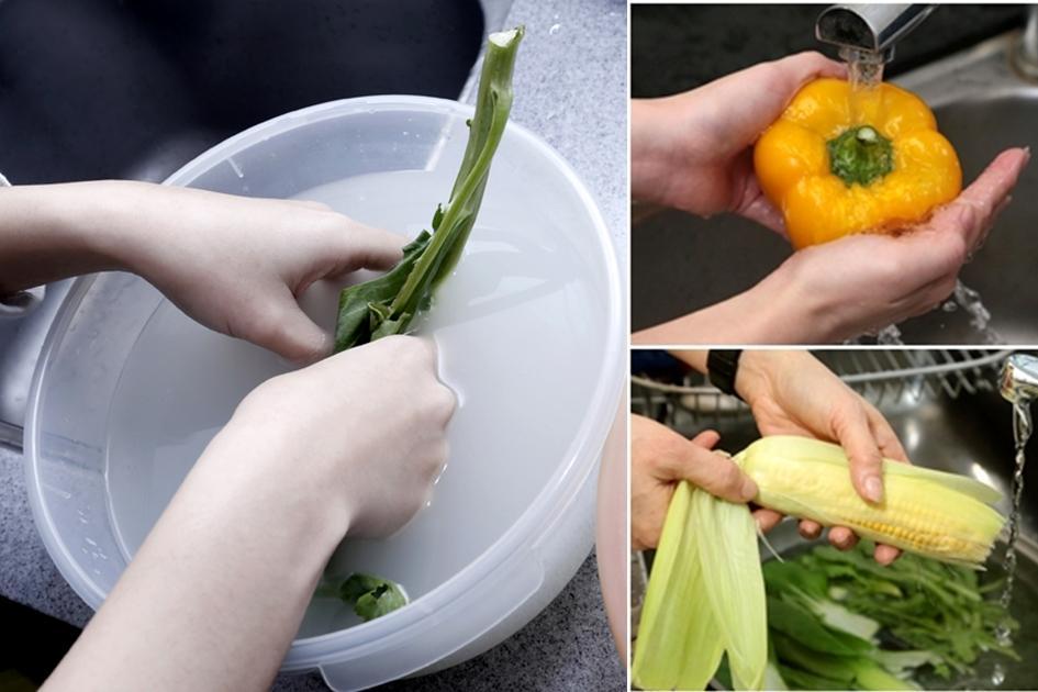 洗米水、鹽巴洗菜才乾淨?譚敦慈破解 6 個清洗蔬果迷思