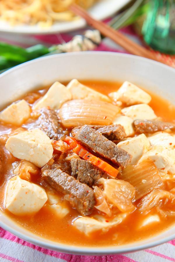 牛肉泡菜豆腐鍋