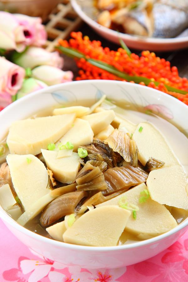 福菜鮮筍湯