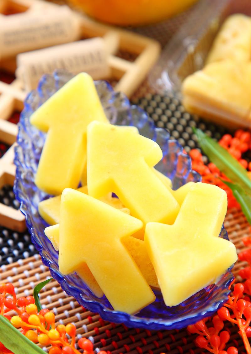 鳳梨芒果雙黃冰磚