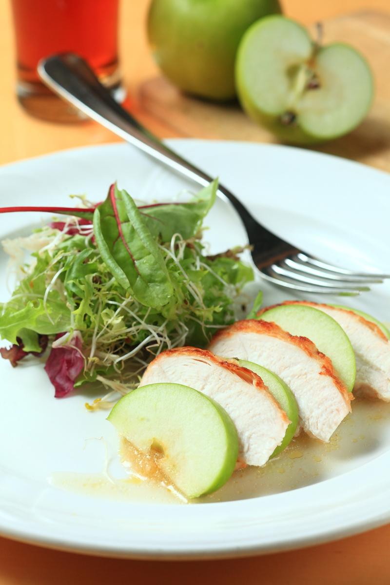 烤雞肉青蘋果沙拉