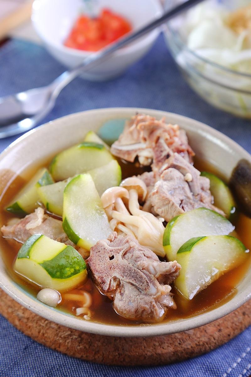 大黃瓜豆豉排骨湯