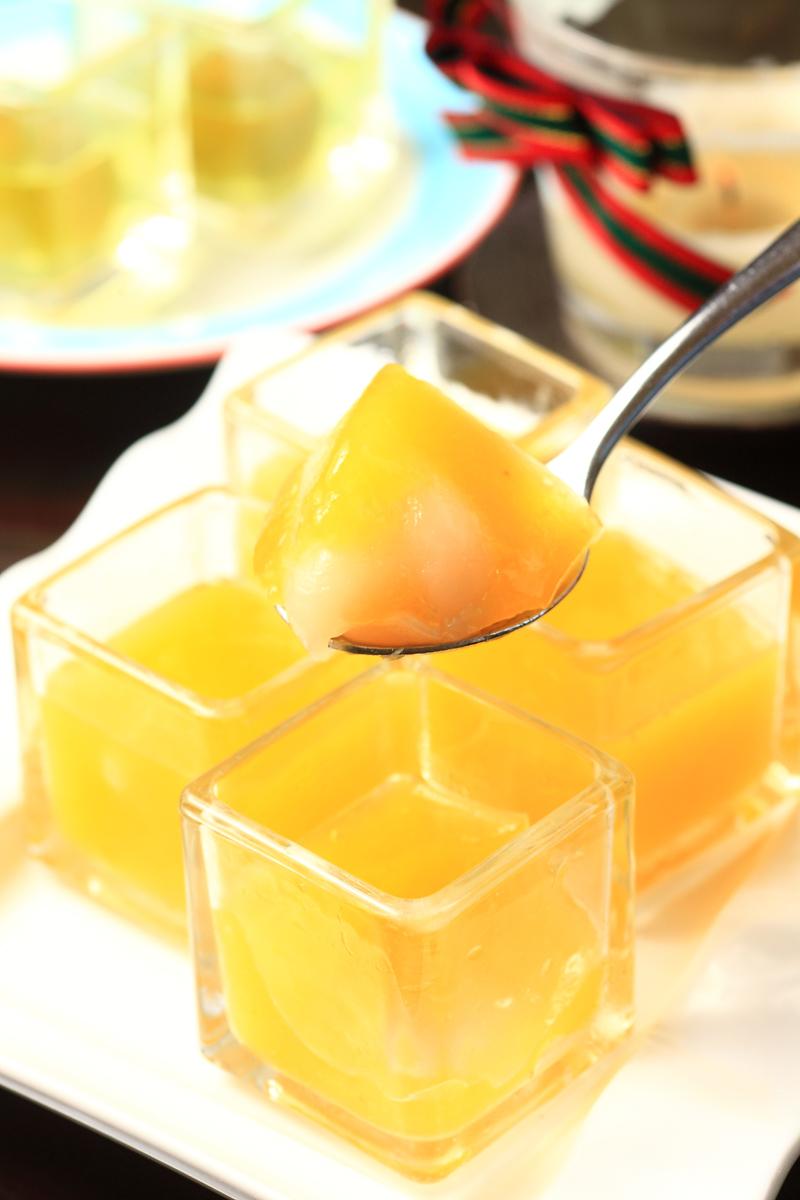 紅毛丹鳳梨果凍